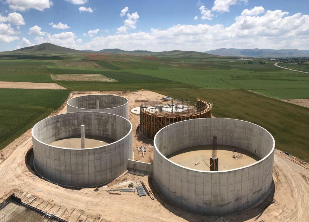 Biyogazteknik Enerji A.Ş. Kırşehir BES biyogaz enerji santrali
