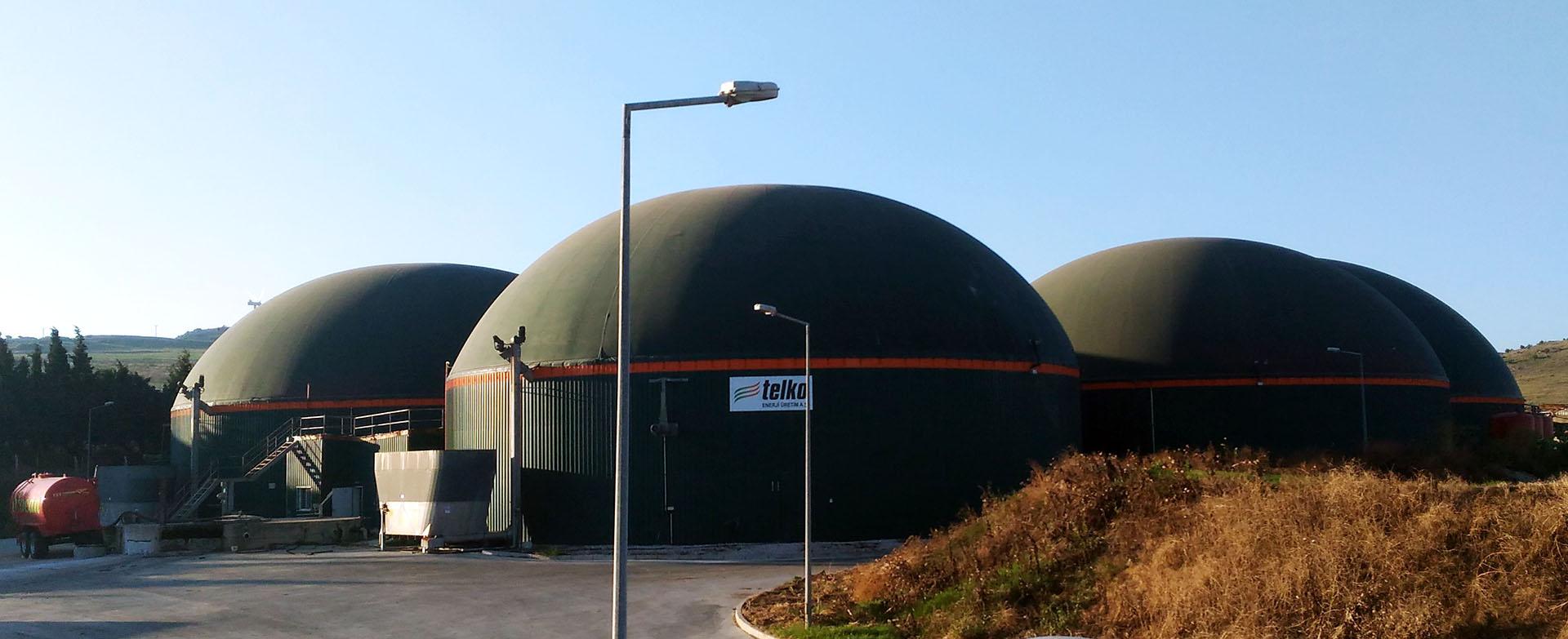 Edincik biyokütle gaz ve enerji tesisi genel görünüm