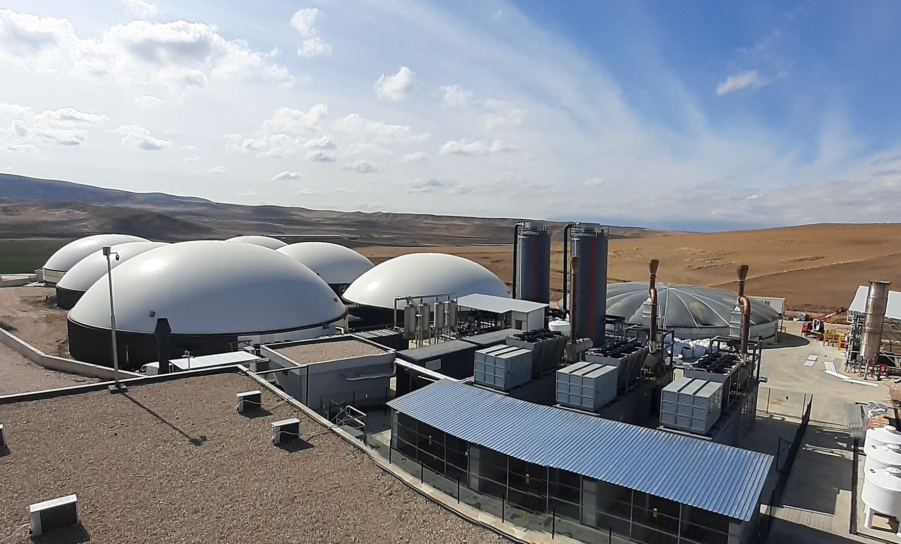 Biyogazteknik Enerbes santrali