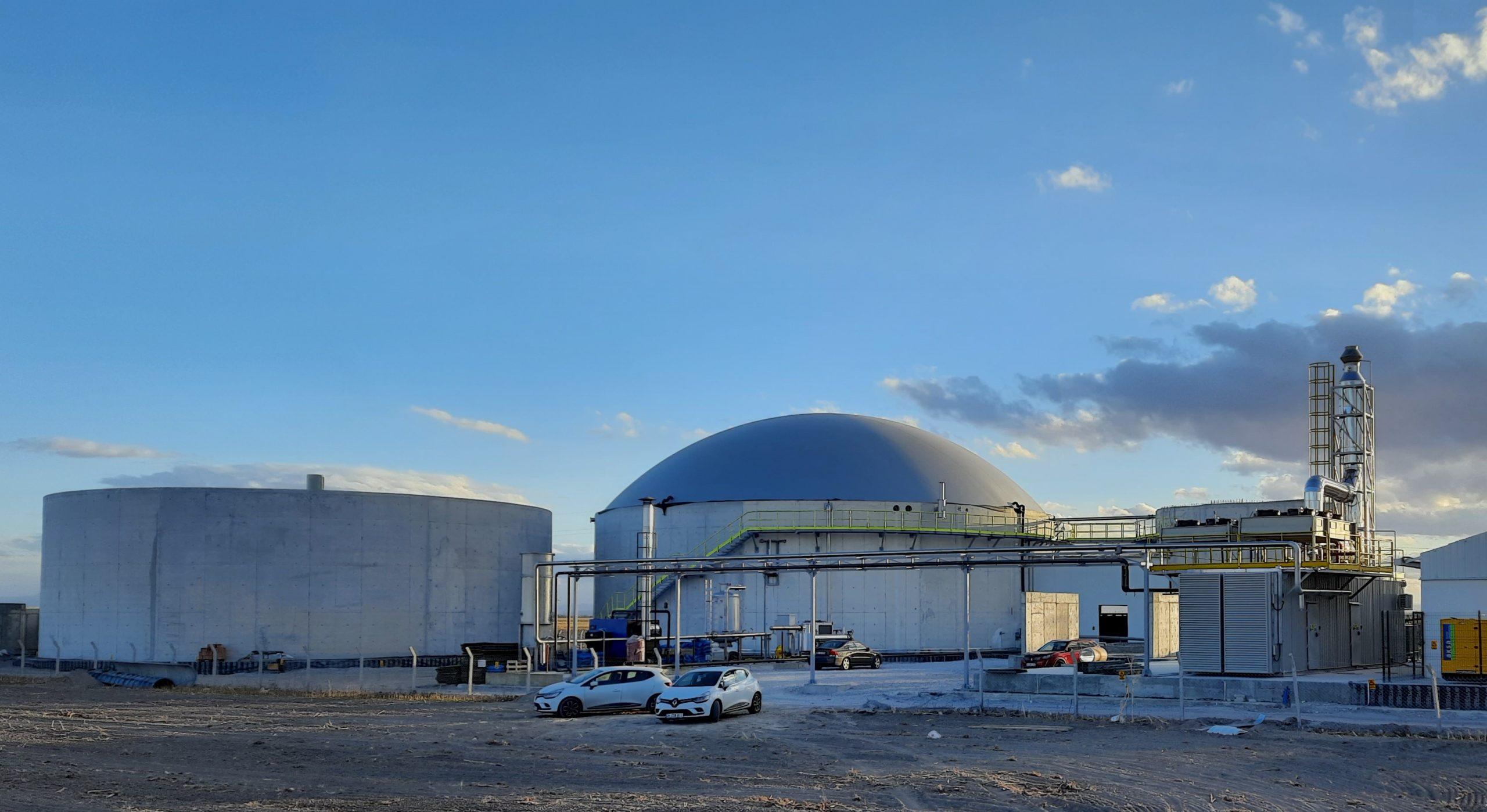 Beyaz Piramit Biyogaz Enerji santrali Faz1